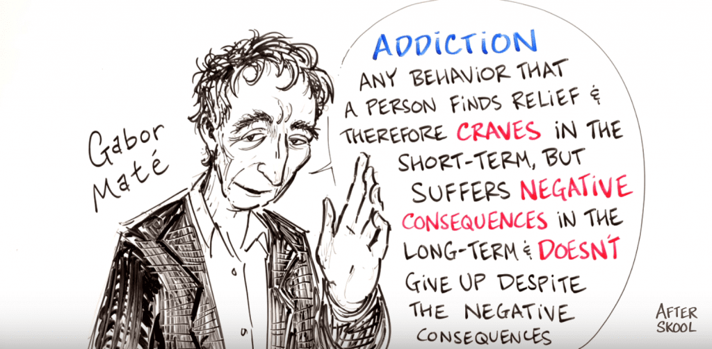 How Childhood Trauma Leads to Addiction - Gabor Maté
