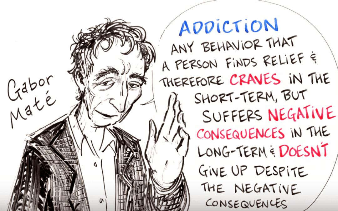 How Childhood Trauma Leads to Addiction – Gabor Maté